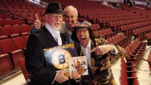 Don Cherry, Ron MacLean and Nardwuar