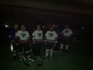 Hockey in the dark