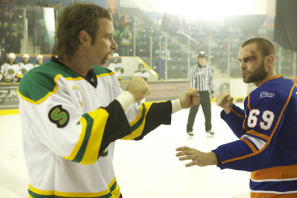 Ross Rhea and Doug Glatt about to fight