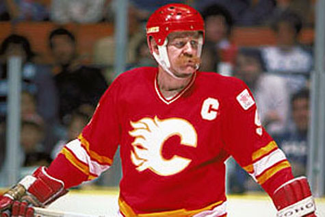 Lanny McDonald's moustache is hockey
