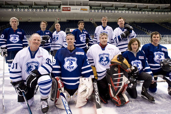 Juno Cup media day 2011. Photo by Richard Beland